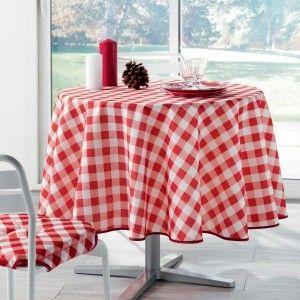 27c4408119e381 Nappe vichy rouge - Comparer 50 offres