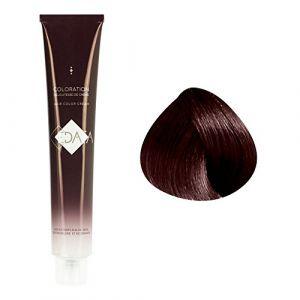 Edaïa Coloration permanente 6/75 : Blond foncé marron acajou, Crème 100ml