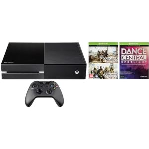 Microsoft Pack Xbox One 500 Go + Kinect + 1 jeu