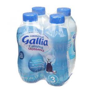 Gallia Lait Calisma Croissance 4 x 1 L - dès 12 mois