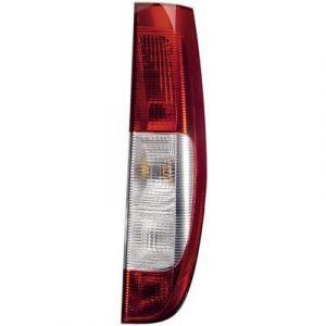 Hella 2SK 964 596-021 Feu arrière, droite, 12V, Technologie d'illumination, avec porte-lampe, avec ampoules