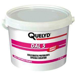 Image de Quelyd DAL 5 - Colle mastic polyvalente spéciale isolation (13 kg)