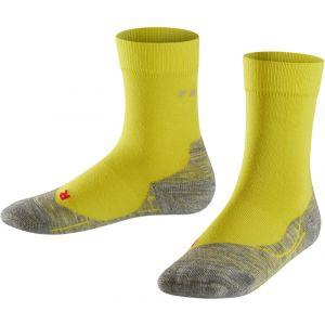 Falke RU4 - Chaussettes course à pied Enfant - jaune EU 27-30 Chaussettes course à pied