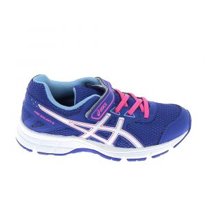 best website 1da99 9e363 Asics Pre Galaxy 9 PS, Chaussures de Running Mixte Enfant, Bleu (Blue Purple
