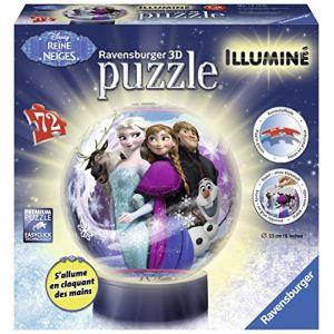 Ravensburger Puzzle 3D La Reine des Neiges 72 pièces