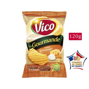 Vico La gourmande - Chips 120 gr