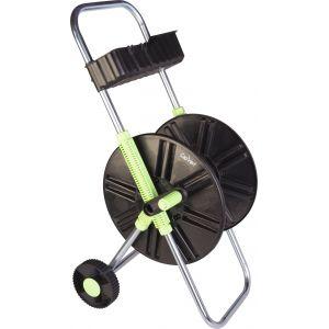 Image de Cap Vert Dévidoir ABS de tuyau sur roues avec clayette