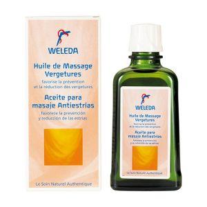 Weleda Huile de massage Vergetures
