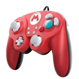 PDP Manette Smash Pad Pro pour Nintendo Switch - Mario Super smash bros
