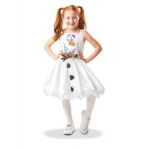 Déguisement Robe Luxe Olaf Air Motion La Reine des Neiges - Frozen - Fille