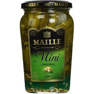 Maille Cornichon mini recette classique - Le bocal de 210g