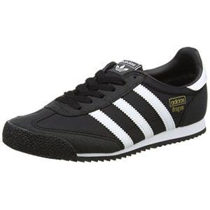pretty nice e9558 9de25 Adidas Dragon OG, Baskets Basses Mixte Enfant, Noir (Core Black Footwear  White