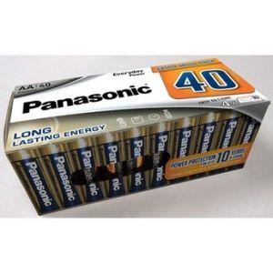Panasonic Pile Pack de 40 piles LR6 AA
