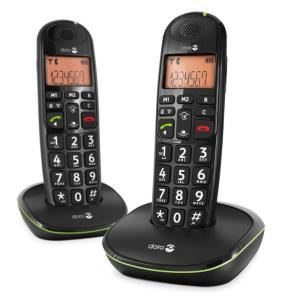 Doro PhoneEasy 100w duo - Téléphone sans fil 2 combinés