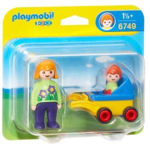 Playmobil 6749 - 1.2.3 : Maman avec poussette