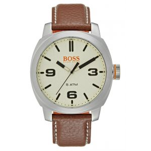 Hugo Boss 1513411 - Montre pour homme avec bracelet en cuir