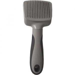 Vetocanis Brosse carde retractable et autonettoyante - Pour éliminer les poils morts - Pour chat