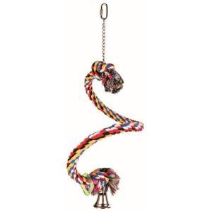 Trixie Perchoir corde en forme de spirale (50 cm)