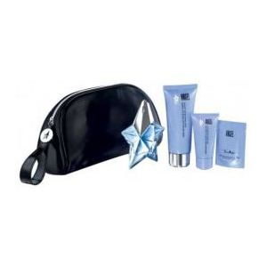 Thierry Mugler Angel - Coffret eau de parfum, lotion et lait pour le corps, gel douche et trousse de toilette