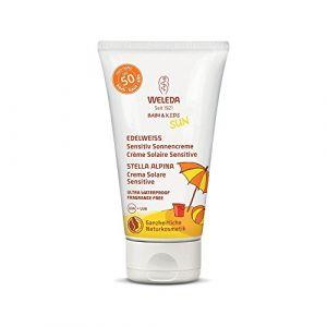Weleda Edelweiss - Crème solaire sensitive SPF50