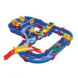 Aquaplay 8700001528 - Circuit d'Eau Set - Megabridge - 35 Pièces
