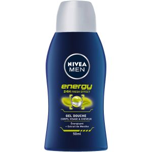 Nivea Gel Douche Energy MEN - Le Flacon de 50 ml