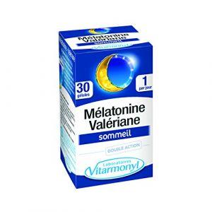 Laboratoires Vitarmonyl 30 gélules mélatonine valériane