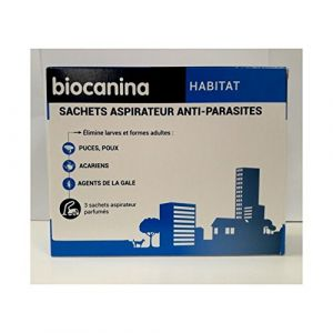 Biocanina Éco-logis Aspirateur Purifiant, 4 sachets de granulés