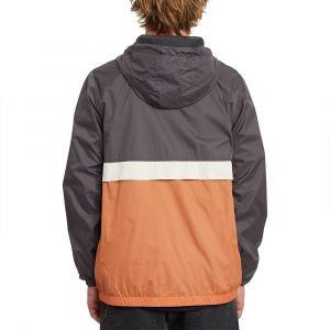 Volcom Ermont Jacket - Veste de loisirs taille L, noir/orange/gris