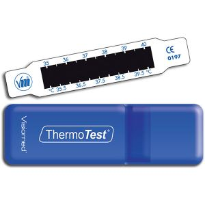 Visiomed ThermoTest VM-TS1 - Indicateur frontal de température à cristaux liquides