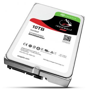 """Seagate ST10000VN0004 - Disque dur NAS IronWolf 10 To 3.5"""" SATA III 7200rpm"""