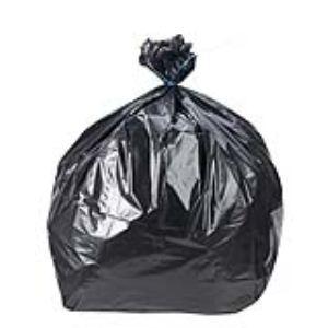Mystbrand 5045-GRIS/NOI - Carton de 200 sacs poubelle pour déchet standard 37 microns (100 L)