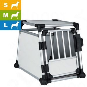 Trixie Cage de transport en aluminium, 55 x 62 x 78 cm