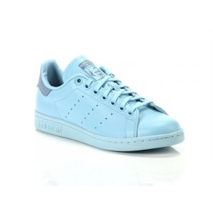 Adidas Stan Smith, Baskets Garçon, Bleu (Ice Blue/Ice Blue/Tactile Blue), 36 EU