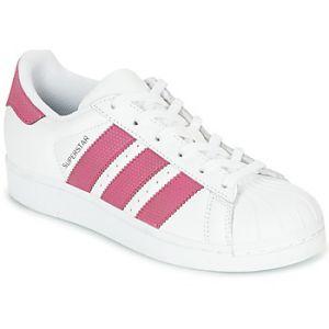 Adidas Superstar J, Chaussures de Fitness Mixte Enfant, Blanc (Ftwbla/Ftwbla/Negbás 000), 35.5 EU