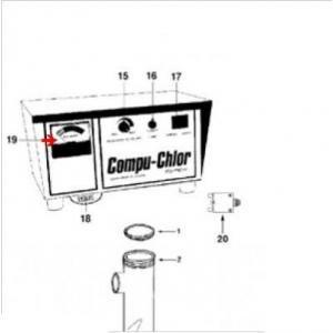 Procopi 9101210 - Indicateur de chlore de Compu-Chlor super