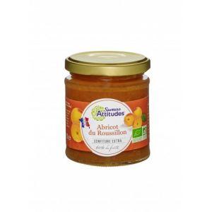 Saveurs attitudes Confiture d'abricot du roussillon bio (220 gr)