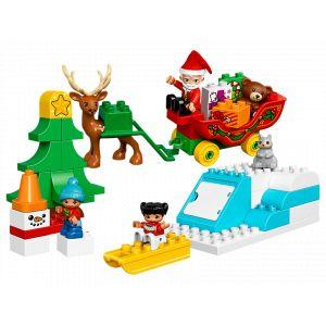 Lego 10837 - Les vacances d'hiver du Père Noël