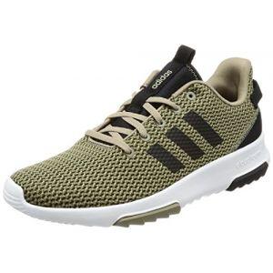 Adidas CF Racer TR, Chaussures de Fitness Homme, Vert (Olitra/Negbas/Cartra 000), 42 EU