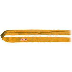 Vigouroux Élingue ronde tubulaire couleur jaune CMU 3 tonnes longueur 3 mètres