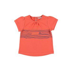 5d3e74f7d2551 Noukie's T-shirt marin collection Bord de mer été 2019 Fille - Orange - 36