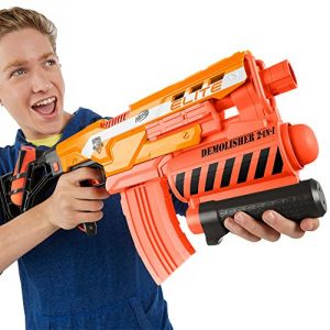 Hasbro Nerf Elite Demolisher 2 en 1 Xd