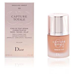 Dior Capture Totale 033 Beige Abricot - Fond de teint sérum correcteur 3D rides - taches - éclat