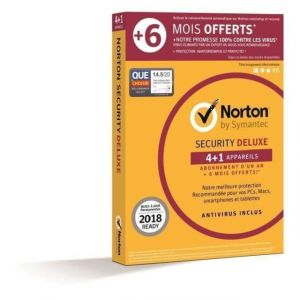 Norton Security Deluxe 2018 [Android, Mac OS, Windows]