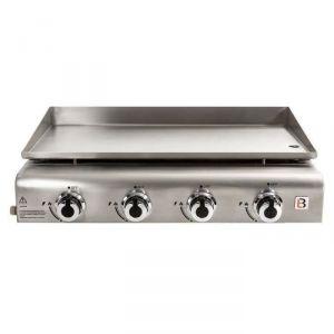 Brasero Grill FAV9760015 - Plancha à gaz 4 feux brûleurs à poser en inox