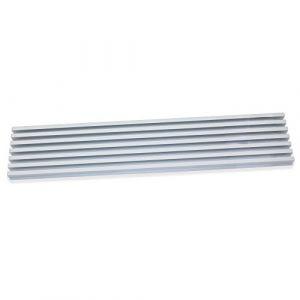 Emuca Grille aération pour four à encastrer en aluminium anodisé mat - 8061662