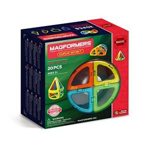 Magformers Set de 20 pièces Curve