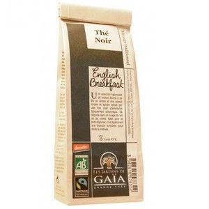 Les jardins de gaïa Thé noir bio English Breakfast