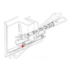 Procopi 32542300 - Traversée de paroi pour moto-réducteur Aquamat 3001 (avant 1998)