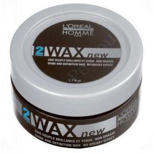 L'Oréal Wax - Cire souple brillance et tenue pour homme Force 2